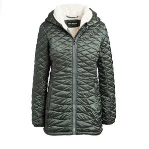 Steve Madden NWT Size Small  Green Quilted Jacket